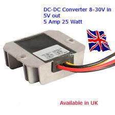 Power Supply DC-DC Converter 12V/24V Down to 5V 5A - 25W ARDUINO - RASPBERRY pi