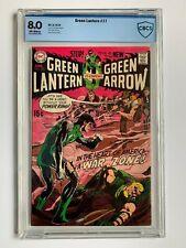 GREEN LANTERN #77, DC Comics, CBCS 8.0 not CGC, Neal Adams cover, Green Arrow