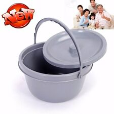 Replacement Commode bucket with Lid Home Care Health Tools New Brand Quality