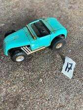 Vintage Non Working Slot car - blue truck no other markings #17