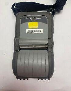 ZEBRA QL320 PLUS MOBILE THERMAL PRINTER Q3D-LUBA0001-01 (TDX211)  W/BATTERY USED