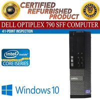 Dell OptiPlex 790 SFF Intel i7 8 GB RAM 1 TB HDD Win 10 USB VGA B Grade Desktop