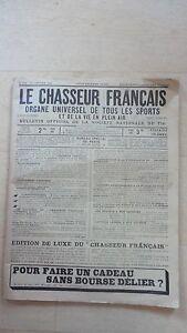 LE CHASSEUR FRANCAIS N°236 DE 1905 !!!