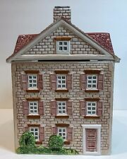 Christopher Johnson Cookie Jar w/ Lid English Series 3 The Village Street Medium