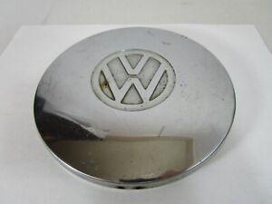 "Vintage VW Volkswagen Chrome Hubcap Center Cap Beetle Ghia Vanagon  6"" Dia."