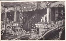 SP13 Vintage RPPC Photo Amusement Park CH Marenghi Paris Organ Railway   #23