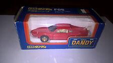 TOMICA DANDY art.F05 FERRARI DINO 246 GT Rosso con scatola. Perfetto come nuovo.