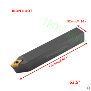 1p SDNCN3232P11 CNC Lathe Arbor Tool CuttingToolholder For DCMT11T3 Insert
