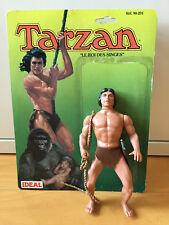 "Vintage Ideal 7"" Tarzan Figure King of the Apes Dakin 1984 Figurine"