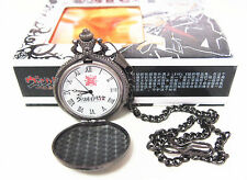 Free Shipping Anime Vampire Knight Cosplay Glass Pocket Watch 100% New in Box