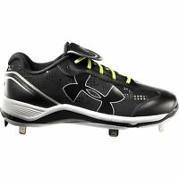 Under Armour Glyde ST CC Softball Cleats Black/White No Box