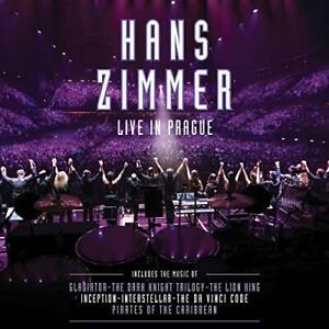 Hans Zimmer Live In Prague 4 LP Vinyl Set Soundtrack Filmmusik unvollständig