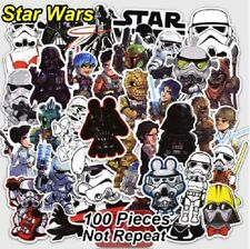 100 STAR WARS STICKER BOMB PACK EURO VW SKATEBOARDING SCOOTER VINYL DECAL SET