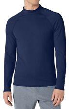 New listing Amazon Essentials Mens Upf 50 Long Sleeve Rash Guard, Large, Navy Blue. Swim Sun