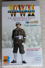 "Dragon Action Figure 1/6 ww11 US MP Matt Clapton 12"" en Caja hizo Cyber Hot Toy"