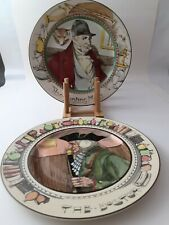 5 Royal Doulton The Professionals plates, Admiral, Doctor, Huntingman, Parson.