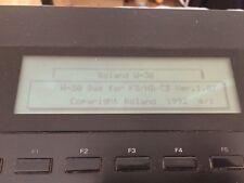 KW-30 SCSI Upgrade ROM & v1.07 Boot Disk for Roland W30 Workstation Sampler