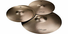 """Stagg EXK Pro-Action Cymbal Set with FREE 20"""" Cymbal bag!"""