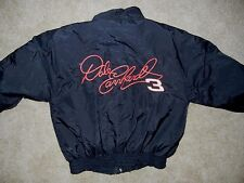 DALE EARNHARDT Goodwrench Black #3 RACING JACKET Team Coat Size Men's LARGE