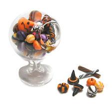 Dollhouse Miniature Standing Jar of Halloween Candy - Handmade 1:12 scale