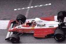 9x6 fotografia Aguri SUZUKI F1 Zakspeed-YAMAHA 891 GP di Monaco 1989