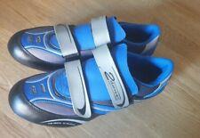 Rennradschuhe 2danger mit Schuhplatten Radschuhe Blau Größe 43
