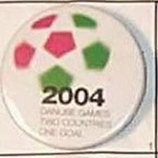 UEFA EURO 2004 PORTUGAL FOOTBALL EUROPA CHAMPIONSHIP OFFICIAL OLD PIN BUTTON