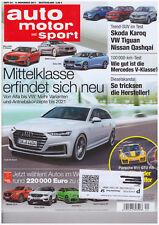 auto motor und sport 24/2017, Mercedes V-Klasse, Audi A4 Avant, Porsche 911GT2RS