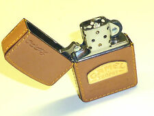 "camel "" TROPHY "" ZIPPO BRIQUET - FULL LEATHER Wrapped - jamais a Frappé - 1995 -"