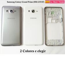 "Carcasa Chasis y Tapa Bateria ""Samsung Galaxy Grand Prime"" G531 Gris Blanco"