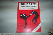 LIVRE ma méthode de combat self défense jeet kune do no 1  BRUCE LEE