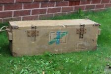 WW2 German Luftwaffe MG151 ammo box, rare model, good paint a lot of labels