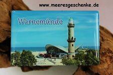 Maritimer Foto-Magnet Warnemünde ca. 8 x 5 cm