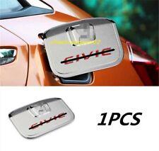 ABS Chrome Exterior fuel tank cover oil gas cap trim For Honda Civic 2016-2019