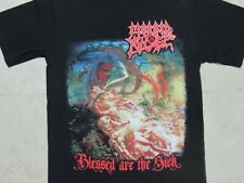 MORBID ANGEL Blessed Are The Sick T-SHIRT Mens SMALL Bright Colors Concert Tour