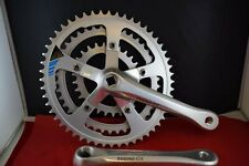 Sugino GX110 CYCLOID crankset 170mm triple 52/42/28t OVAL chainrings Alloy NOS