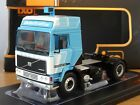 IXO VOLVO F12 GLOBETROTTER BLUE & WHITE 1981 TRUCK CAB MODEL TR090 1:43