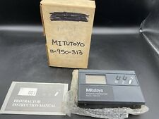 Mitutoyo Digimatic Protractor Model 950 313 Brand New With Manual