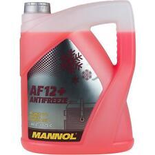 Kühlerfrostschutz Typ G12+ Rot -40°C 5Liter MANNOL Antifreeze Kühlmittel Audi VW