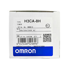 Omron H3Ca-8H Solid State Timer Relay 200/220/240Vac free ship