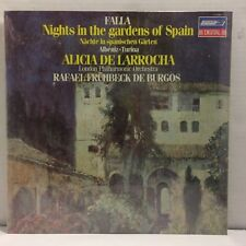 Falla - Night in the Gardens of Spain LP - SEALED Vinyl - De Lorrocha  De Burgos