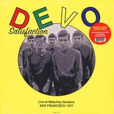 LP Devo-Satisfaction:Live San Francisco 1977 Edizione Speciale Vinile Giallo