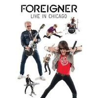 """FOREIGNER """"LIVE IN CHICAGO"""" DVD NEW+"""