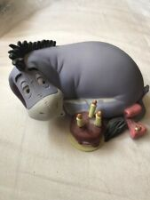 Pooh and Friends Eeyore Birthday Porcelain Figurine