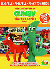 The Adventures of Gumby: The 60s Series Volume 1 DVD with Toy