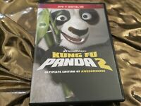 Kung Fu Panda 2 - Ultimate Edition of Awesomeness (DVD + Digital HD code) NEW