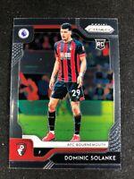 2019-20 Panini Prizm Premier League Soccer Dominic Solanke Bournemouth #149 RC