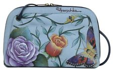 Anuschka Leather Roses D'Amour Multi-Compartment All-Round Zip, 349-RDM (SALE!)