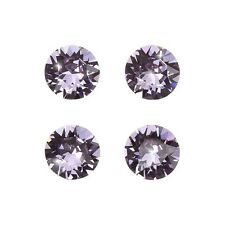 Swarovski 1088 Crystals XIRIUS Chatons Violet Foil Back 8mm PK4 (D102/4)