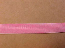 Elastic 1/2 inch PINK Elastic 5 yds. Soft Headbands Waistband Strap Sport USA